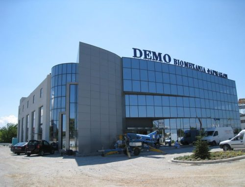 INDUSTRIAL BUILDING IN THERMI THESSALONIKI